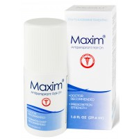 2 x Maxim Antiperspirant Roll On for Hyperhidrosis  and Excessive Sweating 29.6ml