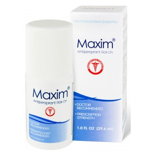 Maxim Antiperspirant Roll On for Hyperhidrosis  and Excessive Sweating 29.6ml