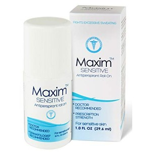 3 x Maxim Sensitive Antiperspirant roll on Value pack